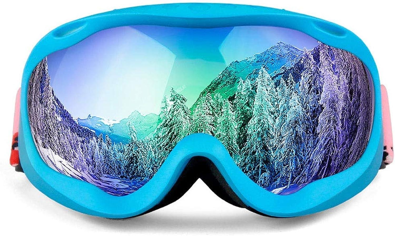 ZAIHW Snow Ski Goggles Double Lens Anti-Fog Windproof UV Eyewear für Erwachsene und Jugendliche zum Skifahren, Snowboarden, Motorradfahren und Snowmobile