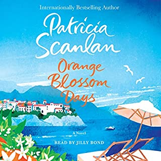 Orange Blossom Days audiobook cover art