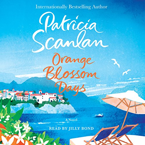 Orange Blossom Days audiobook cover art