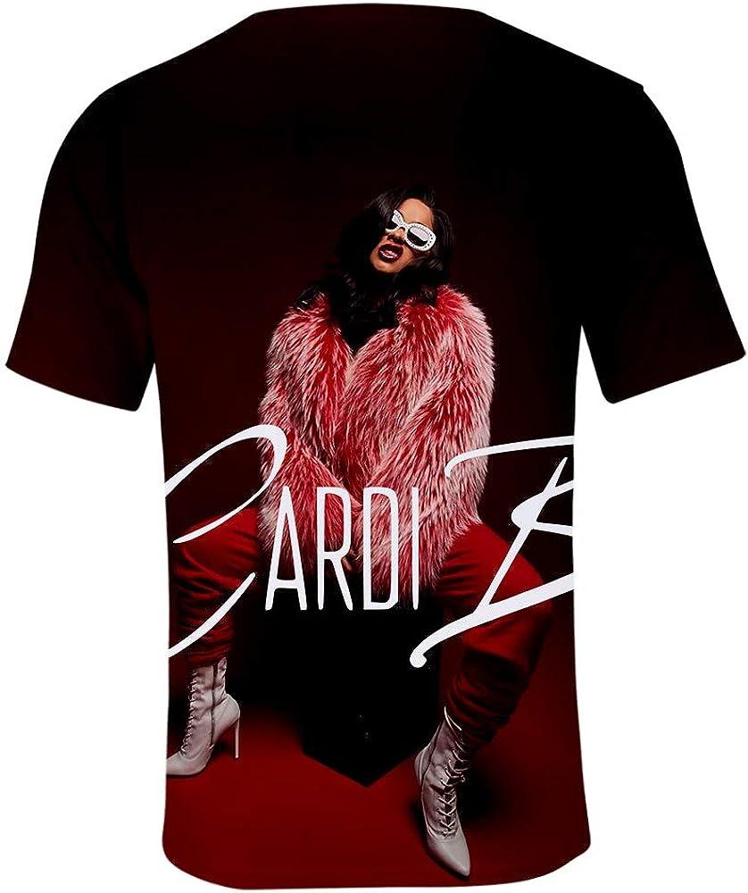 WAWNI Cardi B 2020 New T Shirt Printed Animal T-Shirt Women Men Funny Clothing Harajuku Tee Shirt Casual Unisex 3D T Shirt