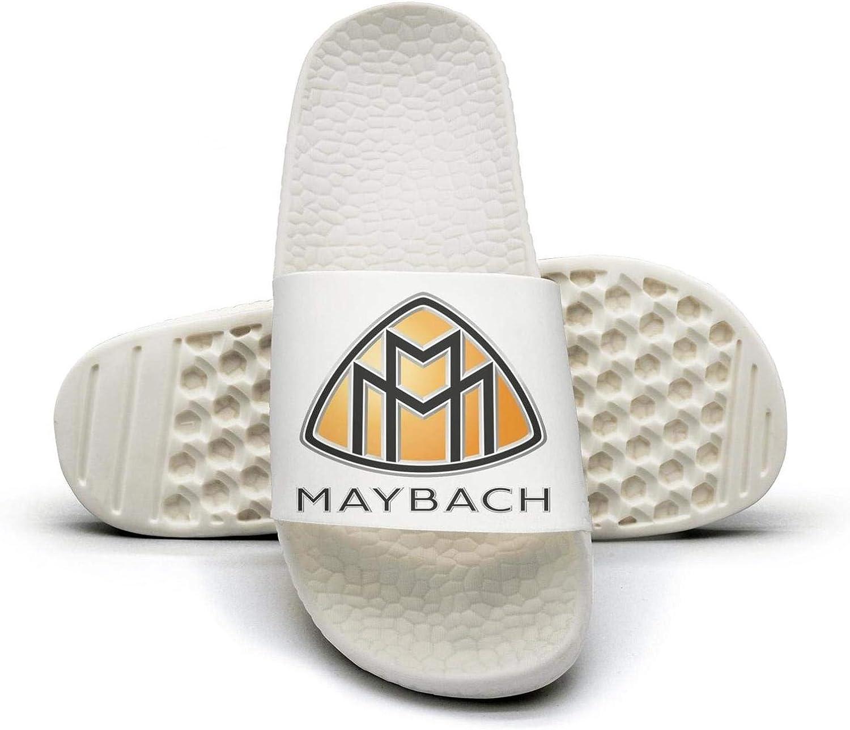 EIGKASL Printed Non-Slip Slipper Slide flip Flop Sandals Maybach-Logo-Benz-Symbol-Emblem-Summer Outdoors for Womens