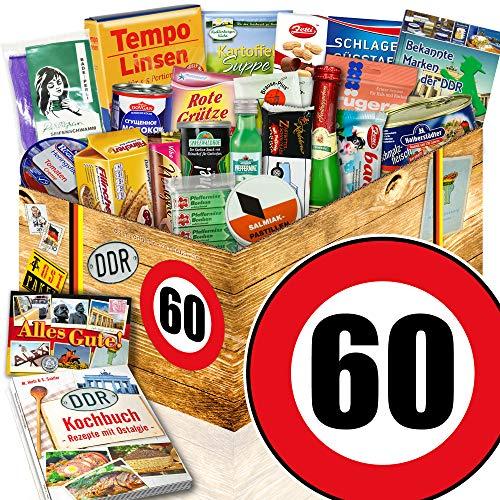 DDR Geschenke / Geburtstag 60 / Geschenk Korb Mama / Spezialitäten Korb