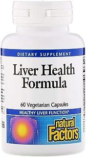 Natural Factors Liver Health Formula - 60 Vegetarian Capsules