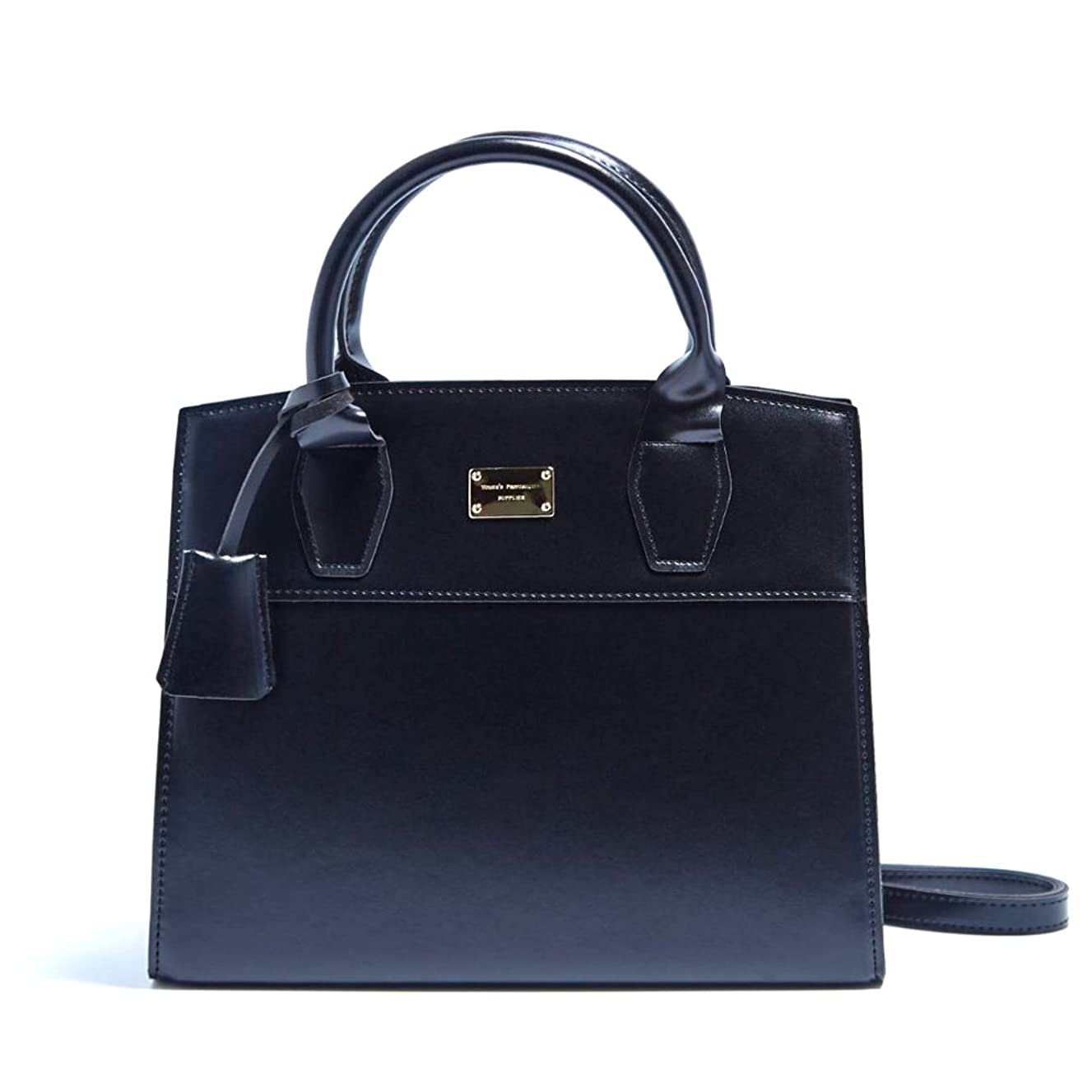ハンサム近傍ベギン2Wayキレイ色の上品なミニハンドバッグ/ブラック