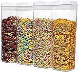 Contenitori Alimentari per Pasta Senza BPA, Contenitore Ermetico per Conservazione Aliment...
