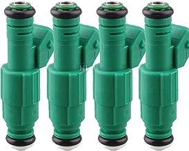 SISIMOM OEM # 280155968 4PCS Fuel Injector 440CC 0280155968 for Audi A4 S4 TT 1.8L 1.8T Volvo