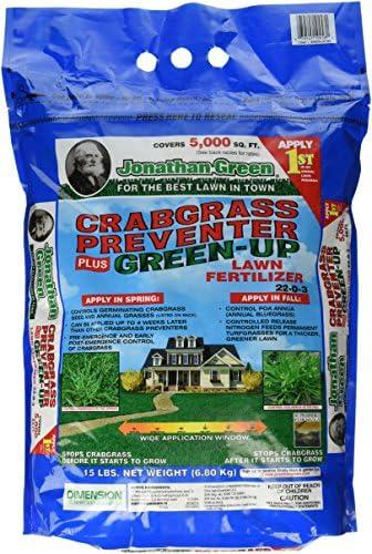 Jonathan Green 10458 Crabgrass Preventer Plus Green Up Lawn Fertilizer product image