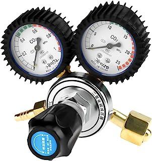 二酸化炭素減圧器 CO2レギュレータゲージ 圧力調整器 アルゴンガスメーター溶接作業用 TIG溶接 流量計 36m3/h