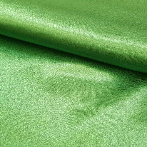 Craftine Tissu Satin uni Vert fonçé - Au mètre
