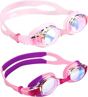 Aegend Kids Swim Goggles, Swimming Goggles for Kids Age...
