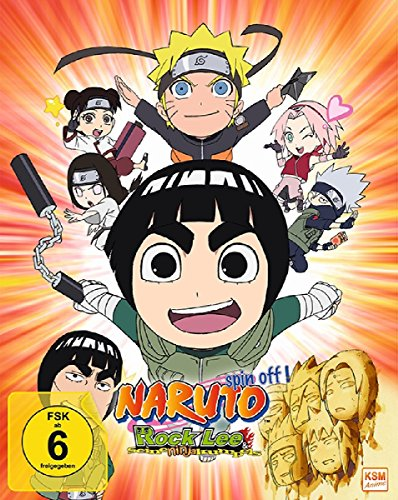 Rock Lee & seine Ninja Kumpels - Vol.1 (Episoden 1-13) (Sammelschuber) [Blu-ray]