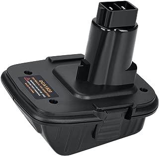 DCA1820 for Dewalt Battery Adapter for 18V Tools Work with 20V MAX XR Lithium Battery