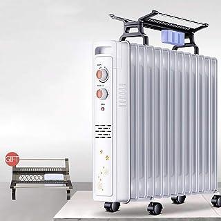 ZDYLM-Y Radiador de Aceite portátil, 2200W Radiador de Aceite con el sobrecalentamiento y de vuelco Protección, con el Secado de la suspensión,11oilfilled