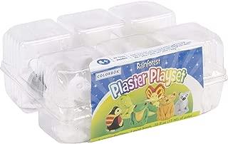 Colorbok You Paint It Plaster Kit Value Pack-Rainforest