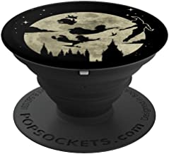 Disney Peter Pan Wendy John Micheal & Tink Fly Across Moon - PopSockets Grip and Stand for Phones and Tablets