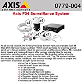 Axis Communications F34 Surveillance System with 4XF1004 & Accessory 0779-004