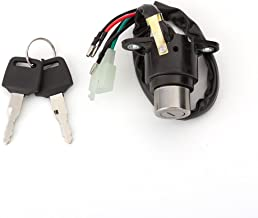 FXCNC Racing Motorcycle 6 Wire Ignition Switch With Keys For Honda CMX250 Rebel 1985-2015, CA125 1995-1999, Magna 250, Rebel 250/450, CMX 250/450