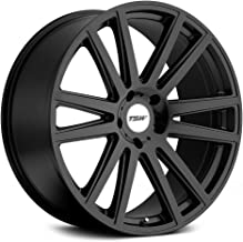 TSW GATSBY Black Wheel with Painted Finish (20 x 8.5 inches /5 x 120 mm, 35 mm Offset)