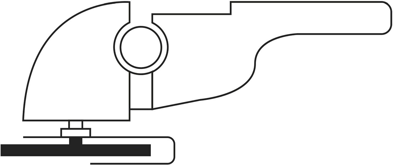 pour meuleuse dangle A36N-BF LUKAS Disque /à tron/çonner T41 pour aluminium 125 x 2,5 mm droit