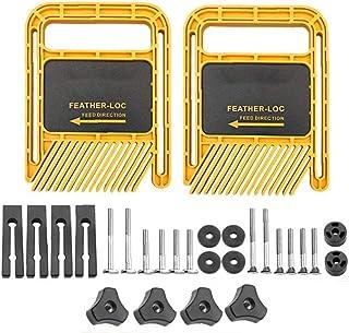 Feather Loc Board Set långa versionen Multi-Purpose för Flip Gravyr Machine Bordssåg bandsåg Mitre Gauge Slot Träslöjd Too...