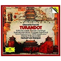Puccini - Turandot / Ricciarelli ツキ Domingo ツキ Hendricks ツキ Raimondi ツキ Wiener Phil. ツキ Karajan (1990-10-25)