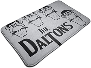HUTTGIGH The Daltons Lucky Luke Dalton - Alfombrilla antideslizante para puerta de baño, alfombra de cocina, 40,5 x 31,5 cm