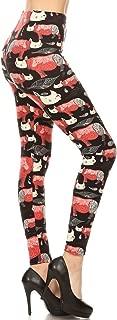 Leggings Depot Women's Ultra Soft Printed Fashion Leggings BAT13