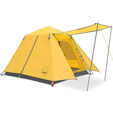 KAZOO テント 3~4人用 ワンタッチテント キャンプ用自動屋外ポップアップ テント 設営簡単 キャンプ用品 PU3000mm防水