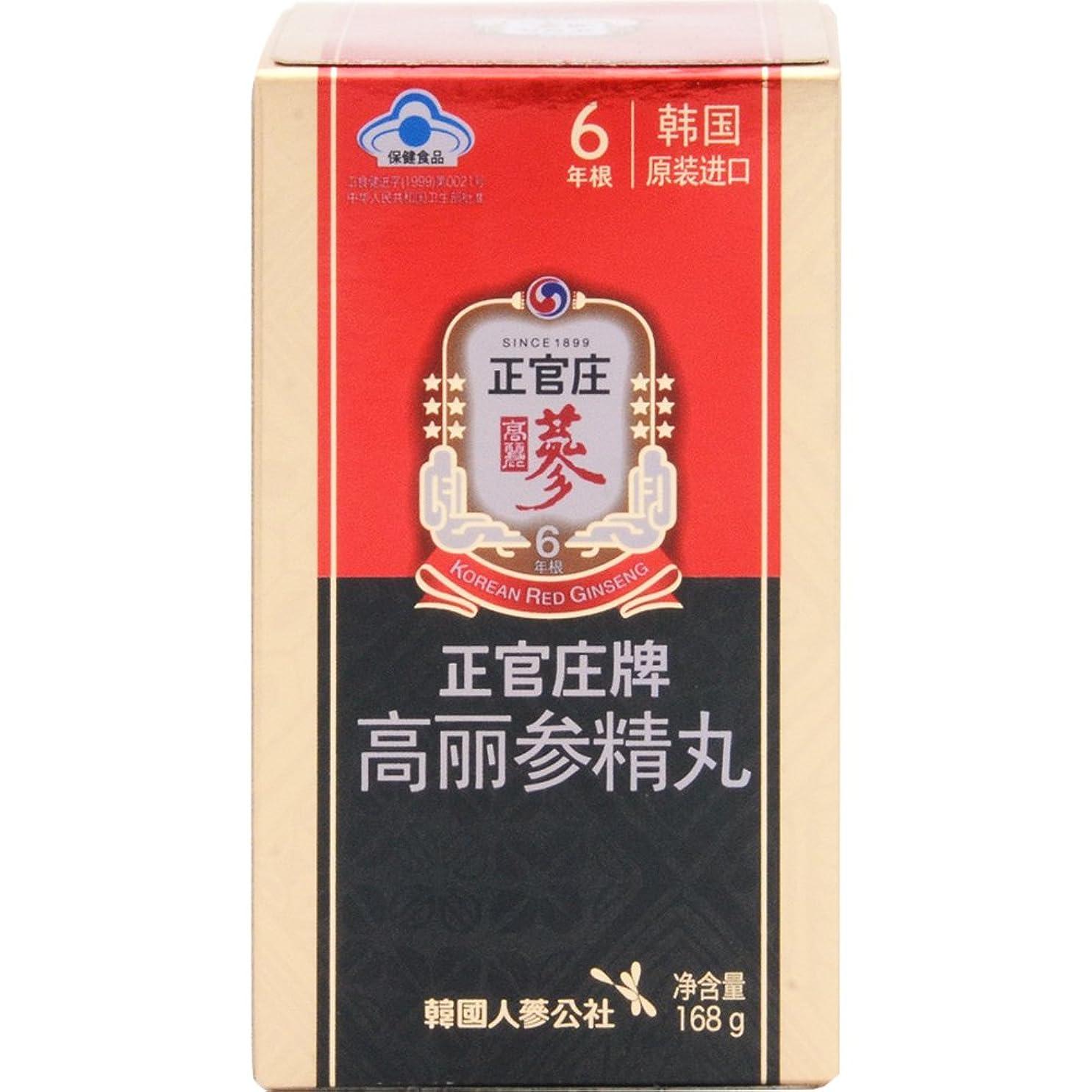 産地困惑進化韓国紅参ブランド『正官庄』(6年高麗人参)紅参精丸168g(800丸入り)