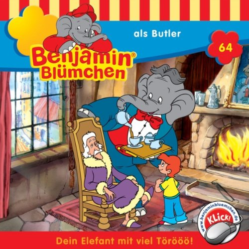 Benjamin als Butler audiobook cover art