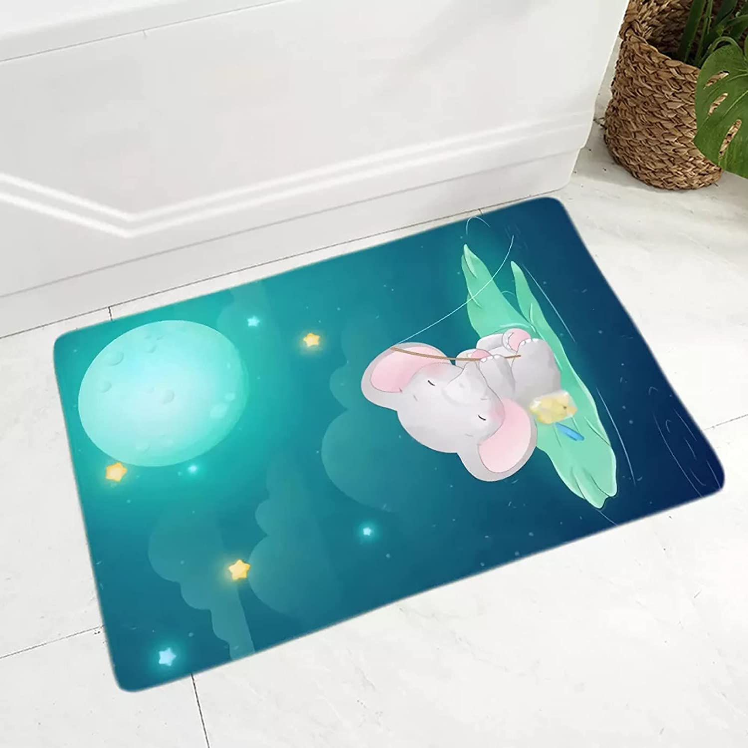 60x90 cm Have A Good Cheap mail order specialty store Dreams Non-Slip Ranking TOP7 Doormat Soft Flannel Print