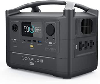 EcoFlow River Max 576Wh Portable Power Station