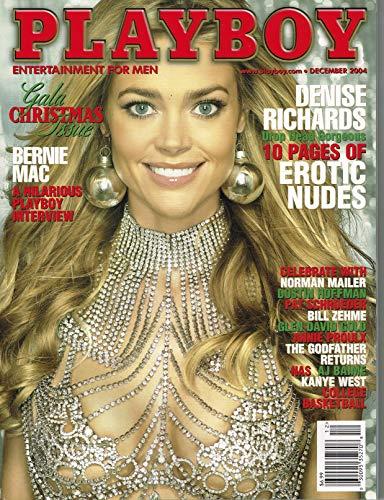 Playboy Magazine - December 2004 - Denise Richards Single Issue Magazine – December, 2004