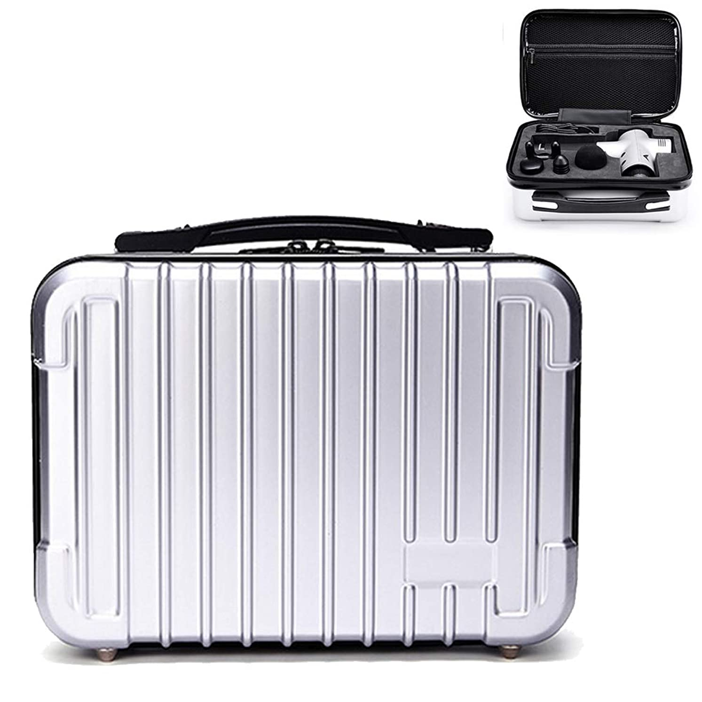 Honbobo HYPERICE HYPERVOLT ハイパーボルト対応ケース 収納ボックス スーツケース (シルバー)