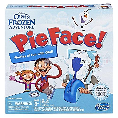 Hasbro Gaming Pie Face: Disney Olaf's Frozen Edition