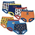 Nickelodeon Boys' Toddler 7pk Potty Training Pant, Paw Patrol Assorted, 2T