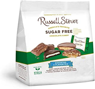 Russell Stover's Sugar Free Four Flavor Assortment, 10 oz. Bag