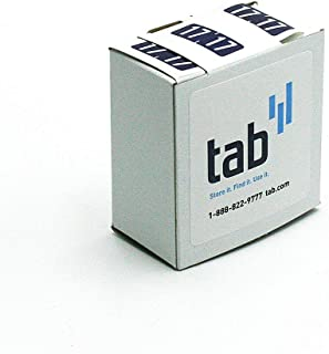 TAB 2 Digit Year Label, 2017, 1/2
