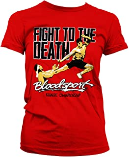 Bloodsport Officially Licensed Fight to The Death Women T-Shirt