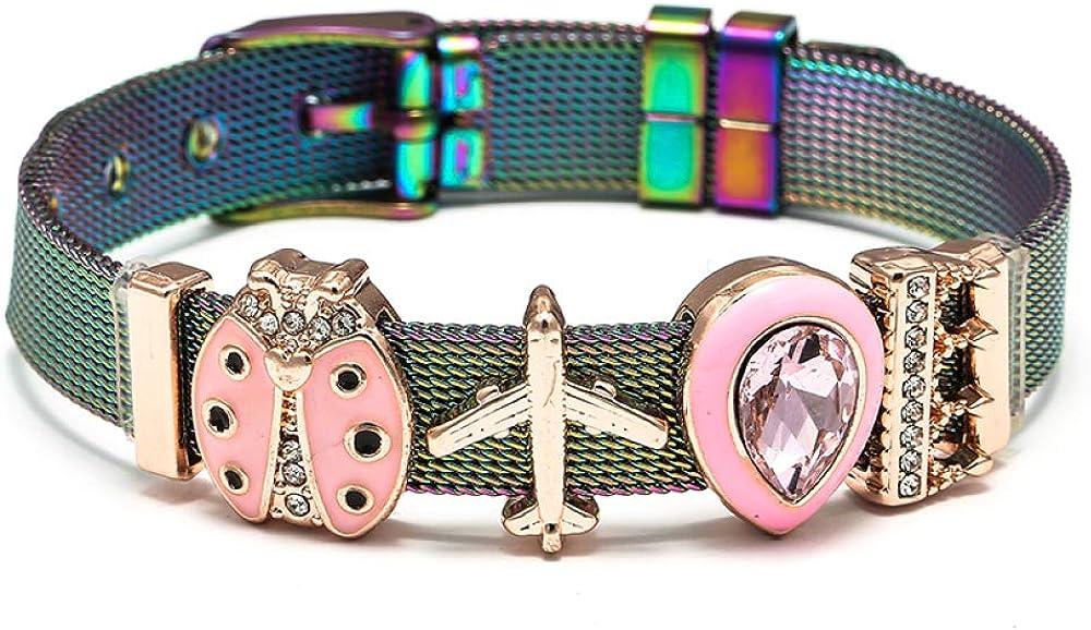 New popularity Stainless Steel Mesh Bracelets For Men Women Brace Special sale item Charm Diy