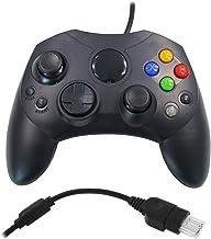Eaxus® Manette de jeu Xbox, manette ergonomique avec 2 emplacements pour cartes pour la Xbox d'origine (2001)