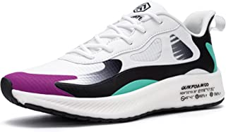 URDAR Baskets Femme Gym Fitness Sport Legere Sneakers Respirante Style Running Chaussures de Sport