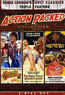 Roger Corman's: Action-Packed Collection (Georgia Peaches / The Great Texas Dynamite Chase / Smokey Bites The Dust)
