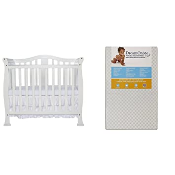 Get Amazing Dream On Me 3 Mini Portable Crib Mattress  You'll Enjoy