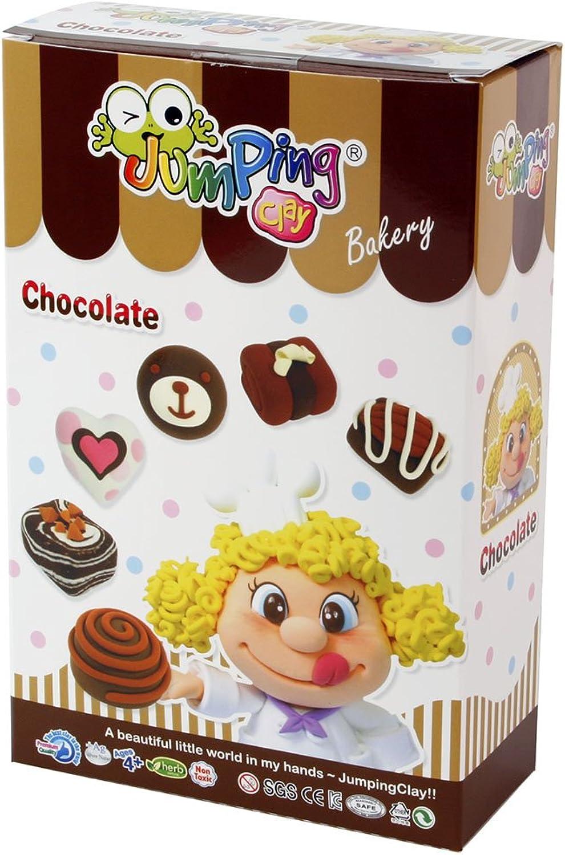 Jumping Clay Kinderknete, Konditorei Set, C20-1 Bakery Series Set Chocolate Chocolate Chocolate B00F5ZH39Q | Authentische Garantie  32dcb1