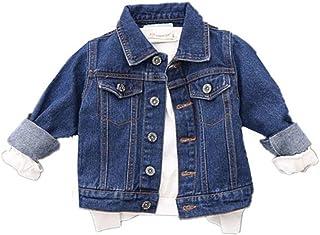 MARIAH(マリア)デニムジャケット アウター ブルゾン 折り襟 長袖 子供服 男の子