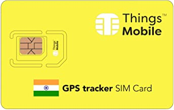 SIM Card for GPS TRACKER in INDIA - Things Mobile- Things Mobile - global coverage, multi-operator GSM/2G/3G/4G network, no fixed costs. €10 of credit included