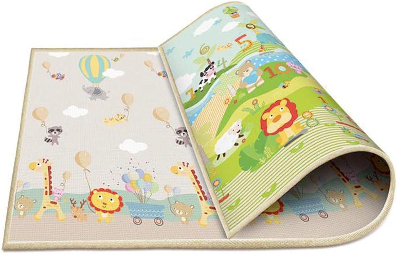 Hbwz 78.7  70.8in Baby Crawling Mat Thickening Environmental Predection Mat Odorless Moistureproof Game Blanket Shatterresistant Pad