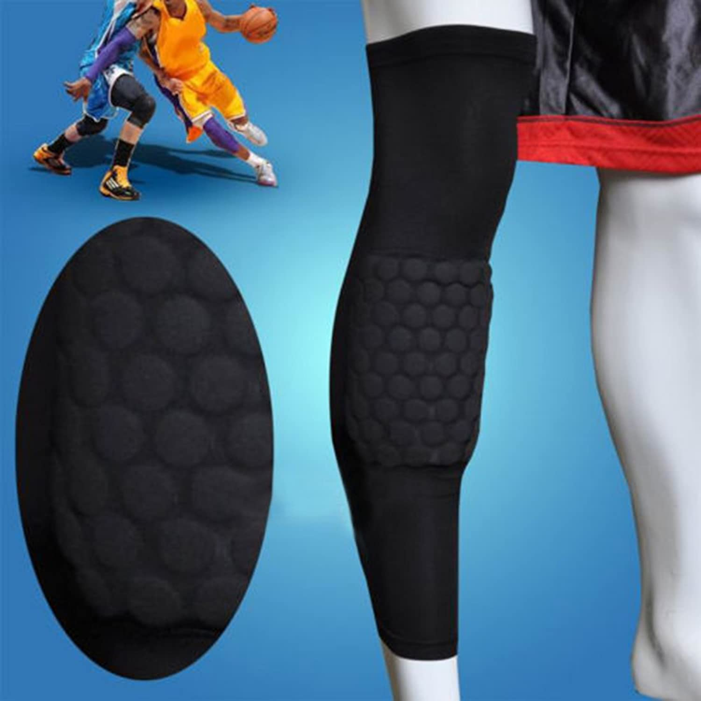 Actpe Basketball Strengthen Kneepad Honeycomb Pad Crashproof Antislip Leg Knee Long Sleeve Predective Pad