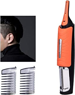 Kotee Men's Nose Hair Trimmer LED Lights Man Electric Trimmer Eyebrow Temples Double-headed Electric Shaver Razor Body Hai...